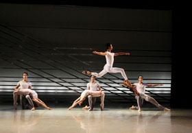 Richmond Ballet dancers in Phoenix Rising